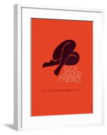 Such Good Friends--Framed Giclee Print