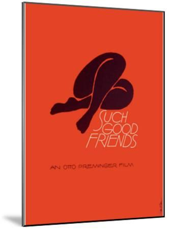 Such Good Friends--Mounted Giclee Print