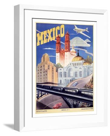 Mexico--Framed Giclee Print