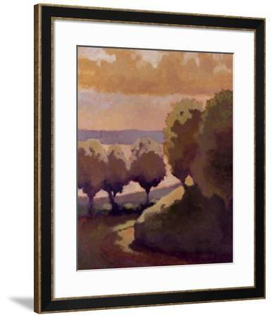 Road Down to the Lake-Lawrence Mathis-Framed Art Print