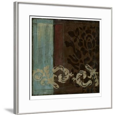 Damask Tapestry II-Jennifer Goldberger-Framed Limited Edition