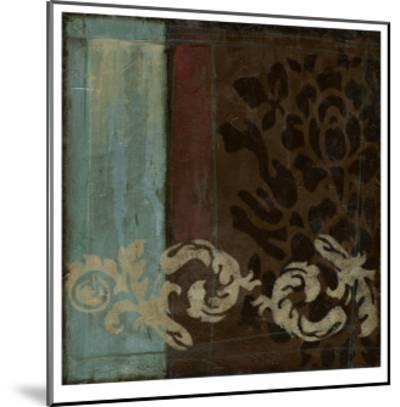 Damask Tapestry II-Jennifer Goldberger-Mounted Limited Edition
