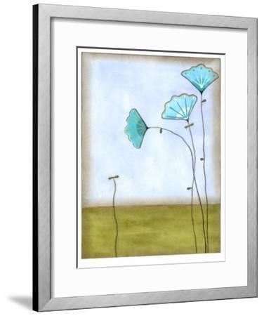 Minna's Garden II-Erica J^ Vess-Framed Limited Edition