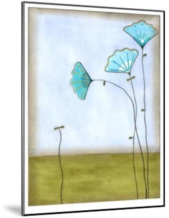 Minna's Garden II-Erica J^ Vess-Mounted Limited Edition
