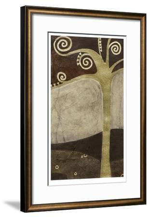 Sylvan Spirals II-Erica J^ Vess-Framed Limited Edition