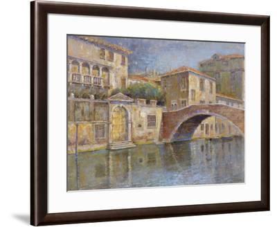 Canal View-Michael Longo-Framed Art Print