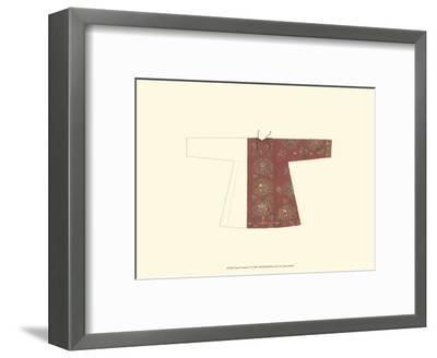 Asian Costume IV--Framed Art Print