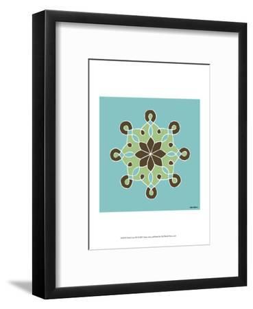Dutch Lace III-Vanna Lam-Framed Art Print