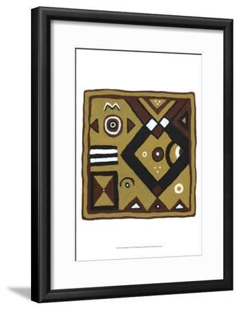 Tribal Rhythms III-Virginia A^ Roper-Framed Art Print
