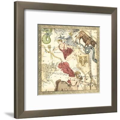 Zodiac Chart II--Framed Art Print