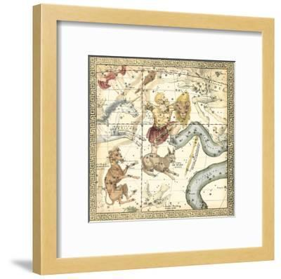 Zodiac Chart IV--Framed Art Print