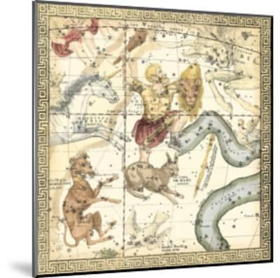 Zodiac Chart IV--Mounted Art Print