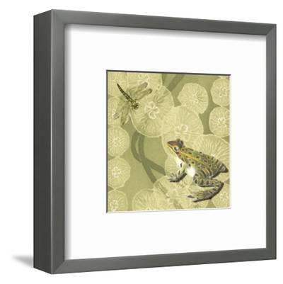 Frog Fable II--Framed Art Print