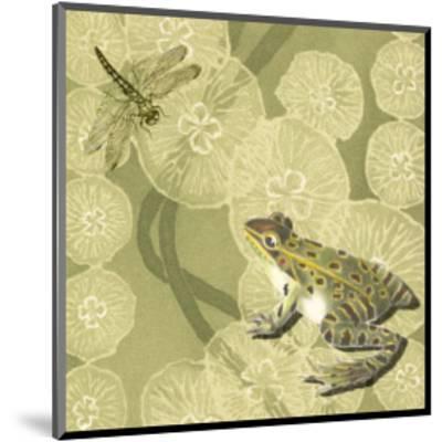 Frog Fable II--Mounted Art Print