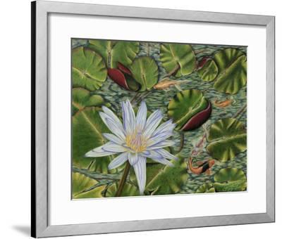 Enchanting Lily-Gloria J^ Callahan-Framed Giclee Print