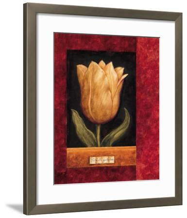 Orange Tulip-Herve Libaud-Framed Art Print