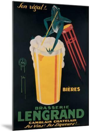 Bierre Lengrand--Mounted Giclee Print