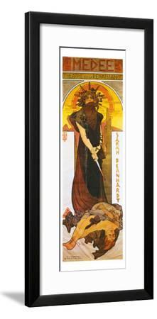 Medee-Alphonse Mucha-Framed Giclee Print