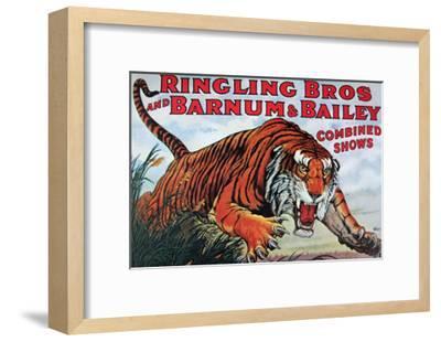 Ringling Bros and Barnum & Bailey--Framed Art Print
