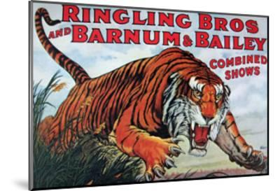 Ringling Bros and Barnum & Bailey--Mounted Art Print