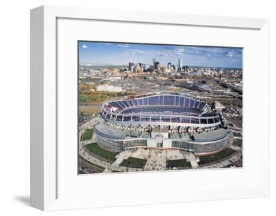 Dever Broncos- New Invesco Field--Framed Art Print