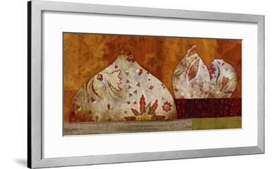 Golden Brocade I-Yuko Lau-Framed Art Print