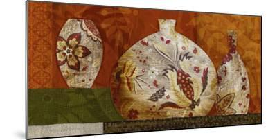 Golden Brocade II-Yuko Lau-Mounted Art Print