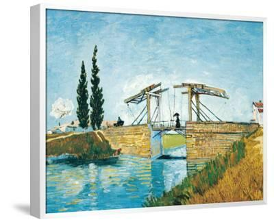 The Langlois Drawbridge-Vincent van Gogh-Framed Premium Giclee Print