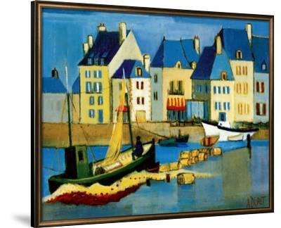 Le Croisic-Andre Duret-Framed Premium Giclee Print