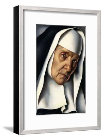 Mother Superior, c.1935-Tamara de Lempicka-Framed Art Print