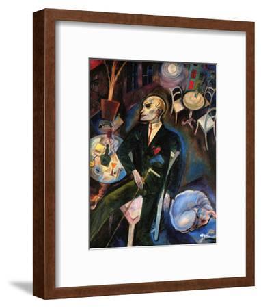 The Malady of Love, c.1916-George Grosz-Framed Art Print