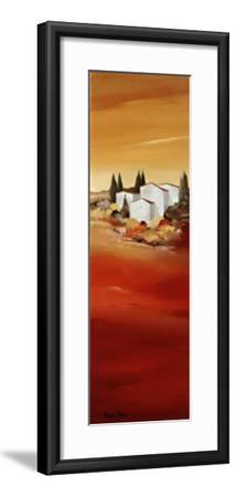 Tuscan Red II-Hans Paus-Framed Art Print