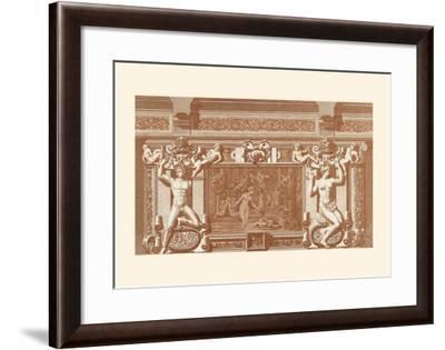 Baroque Relief II--Framed Art Print