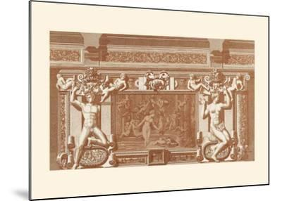 Baroque Relief II--Mounted Art Print