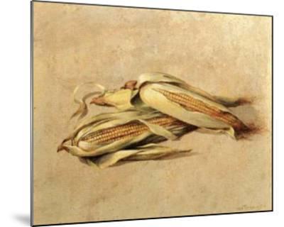 Corn-Joaquin Moragues-Mounted Art Print