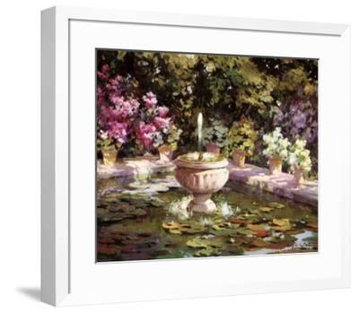 Summertime II-Angel Ruiz de la Casa-Framed Art Print