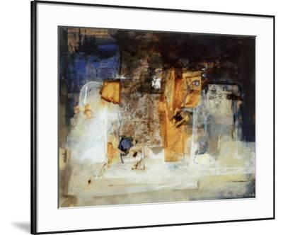 Transparencia Oro--Framed Art Print