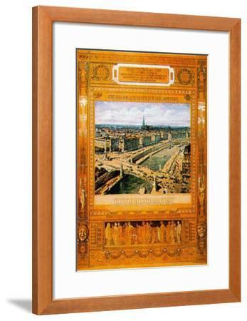 Architectural B.C.-Otto Wagner-Framed Art Print