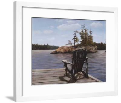 Muskoka Vista I-David Jean-Framed Art Print