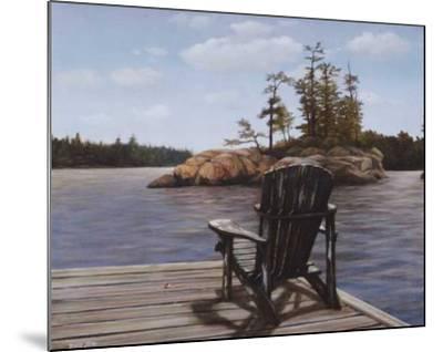 Muskoka Vista I-David Jean-Mounted Art Print