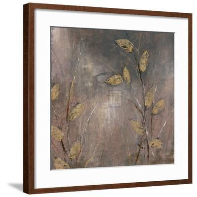Leaves at Dawn I-Bridges-Framed Art Print