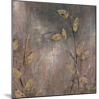 Leaves at Dawn I-Bridges-Mounted Art Print