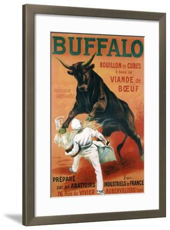 Buffalo Bouillon-Leonetto Cappiello-Framed Giclee Print