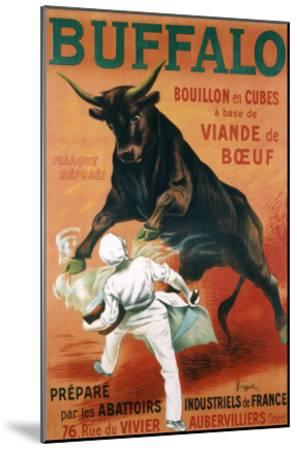 Buffalo Bouillon-Leonetto Cappiello-Mounted Giclee Print