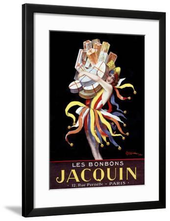 Les Bonbons Jacquin-Leonetto Cappiello-Framed Giclee Print