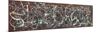 Number 13A: Arabesque-Jackson Pollock-Mounted Art Print