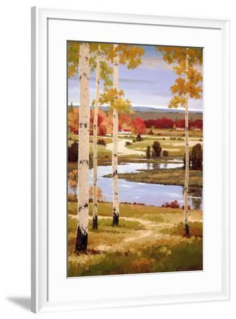 Morning Calm II-Henry Kim-Framed Art Print
