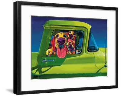 I Wanna Go-Ron Burns-Framed Art Print
