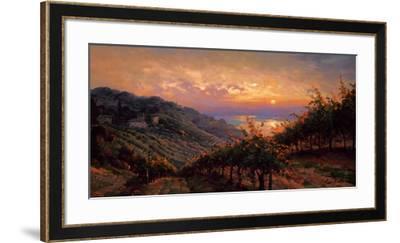 Tuscany Reflections-Leon Roulette-Framed Art Print