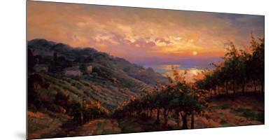 Tuscany Reflections-Leon Roulette-Mounted Art Print